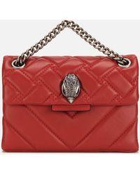 Kurt Geiger Mini Kensington Cross Body Bag - Red