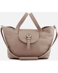 meli melo Thela Medium Tote Bag - Brown