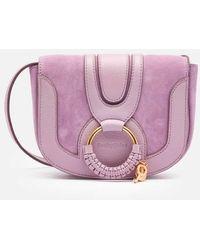 See By Chloé Hana Small Cross Body Bag - Purple