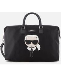 Karl Lagerfeld   Women's K/ikonik Weekender Bag   Lyst
