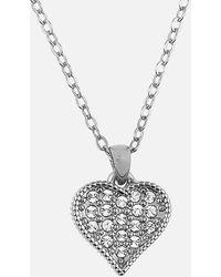 Ted Baker Heyna Hidden Heart Pendant - Metallic