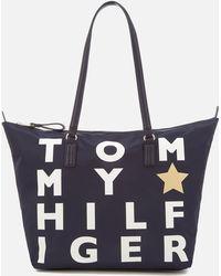 Tommy Hilfiger - Poppy Logo Tote Bag - Lyst