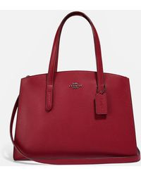 COACH Charlie Carryall Bag - Red