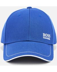 BOSS by HUGO BOSS Green Cap 1 Baseball Cap Blue