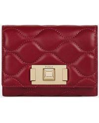 Furla Tuberosa Mini Card Case - Red