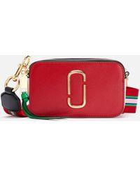 af85632816 Marc Jacobs Rose Multi Color Block Snapshot Camera Bag in Pink - Lyst