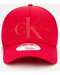 Calvin Klein Monogram Cap - Red