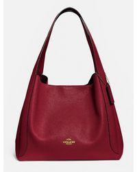 COACH Hadley Hobo Bag - Red