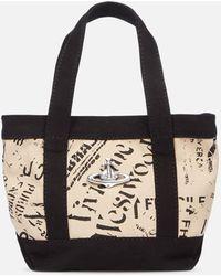 Vivienne Westwood Utility Mini Shopper Bag - Black