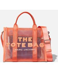 Marc Jacobs The Mesh Small Traveler Tote Bag - Black