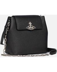 Vivienne Westwood Debbie Bucket Bag - Black