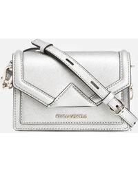Karl Lagerfeld - K/klassik Mini Cross Body Bag - Lyst