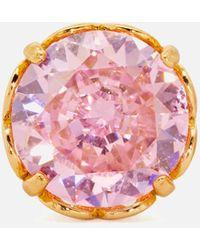 Kate Spade That Sparkle Ohrringe, Rund - Pink
