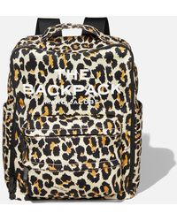 Marc Jacobs The Backpack Leopard - Multicolour