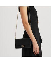 Lauren by Ralph Lauren Adair 20 Small Cross Body Bag - Black