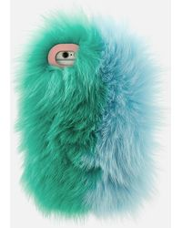 Charlotte Simone - Phone Fluff Iphone Case - Lyst
