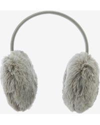 Ted Baker - Zoe Faux Fur Ear Muffs - Lyst