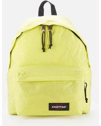 Eastpak Padded Pak'r Backpack - Yellow