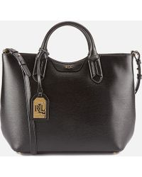 Lauren by Ralph Lauren - Tate Convertible Tote Bag - Lyst