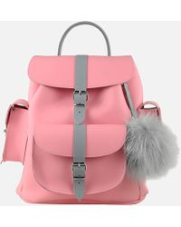 Grafea - Peony Leather Backpack - Lyst