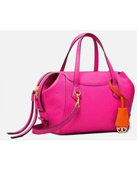 Tory Burch Perry Small Satchel - Pink