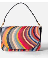 Paul Smith Med Saddle Bag - Multicolour