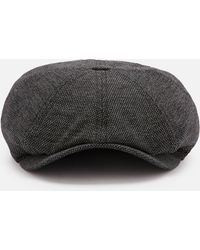 9ee5e5f893ca Ted Baker Gladstn Wool Blend Baker Boy Cap for Men - Lyst