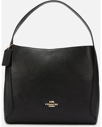 COACH Hadley 21 Hobo Bag - Black