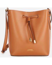 Lauren by Ralph Lauren Dryden Debby Ii Drawstring Mini Bag - Brown