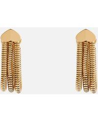 Kate Spade Small Snake Chain Hoop - Metallic