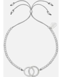 Estella Bartlett Interlinked Cz Liberty Bracelet - Metallic