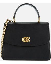 COACH Parker Top Handle Bag - Black