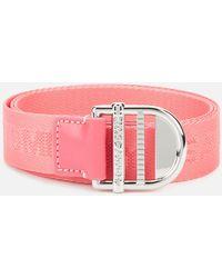 Tommy Hilfiger Tjw Webbing Essential Belt - Pink