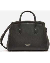 Kate Spade Knott Large Satchel Bag - Black