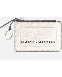 Marc Jacobs Top Zip Multi Wallet - Metallic