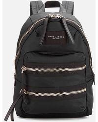 Marc Jacobs Biker Mini Fabric Backpack - Brown