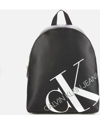 Calvin Klein Logo Backpack - Black