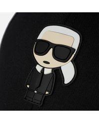 Karl Lagerfeld K/ikonik Cap - Black