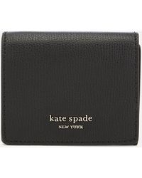 Kate Spade Sylvia Mini Trifold Wallet - Black