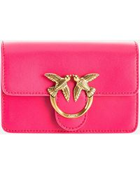 Pinko Love Baby Icon Simply Shoulder Bag - Pink