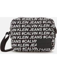 Calvin Klein Sport Essentials Multi Logo Camera Bag - Black