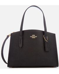COACH Charlie 28 Carryall Tote Bag - Black