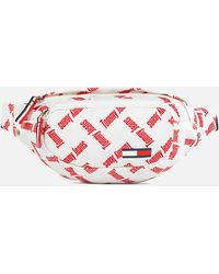 Tommy Hilfiger Cool City Nylon Bumbag - Red
