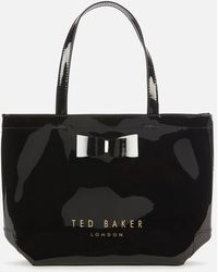 Ted Baker Haricon Bow Small Icon Bag - Black