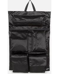 Eastpak X Raf Simons Poster Satin Backpack - Black