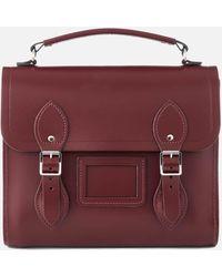 Cambridge Satchel Company Barrel Backpack - Purple
