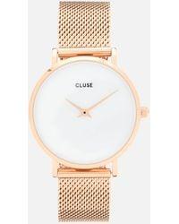Cluse Minuit La Perle Watch - Metallic