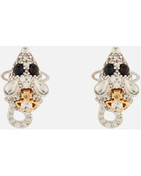 Vivienne Westwood Rat Earrings - Metallic