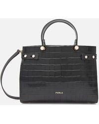 Furla Lady Medium Tote Bag - Black