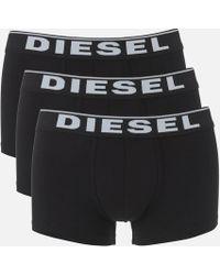 DIESEL - Damien Three Pack Boxer Shorts - Lyst